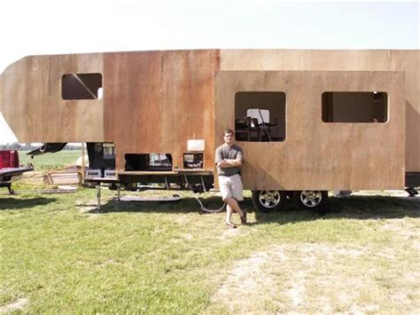 Remodeled Campers how this man built his own diy rv slide out