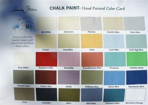 paint colors card chalk paint color card painting furniture