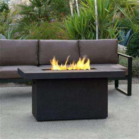 propane outdoor firepit pits outdoor heating the home depot