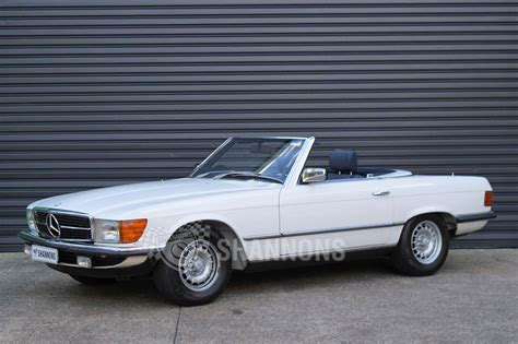 Mercedes 380sl Convertible by Sold Mercedes 380sl Convertible Auctions Lot 18