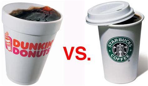 Coffee Bean Lounge: Dunkin' Donuts or Starbucks?