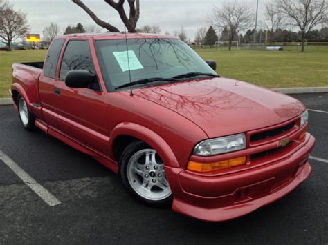 2002 Chevy S10 Xtreme by 2002 Chevrolet S10 Xtreme Bright Cherry Stepside