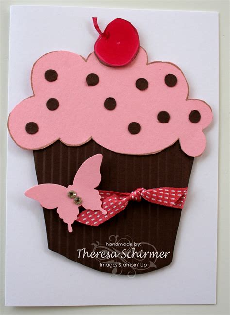 cupcake cards to make cupcake cards sting and stuff with tess