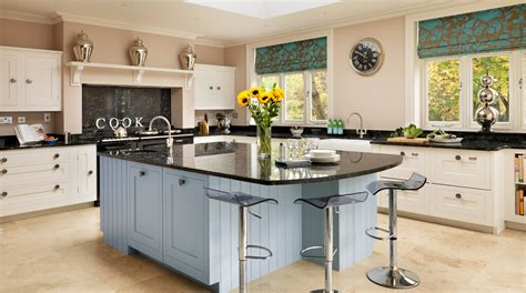 shaker kitchens from harvey jones white blue painted shaker kitchen from harvey jones