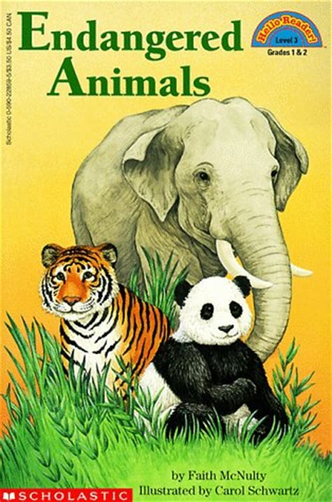 picture books about animals endangered animals level 3 by faith mcnulty reviews