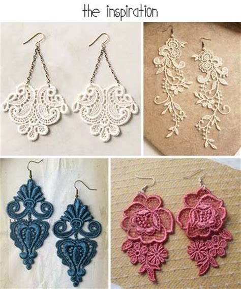how to make lace jewelry 25 best ideas about diy jewelry on macrame