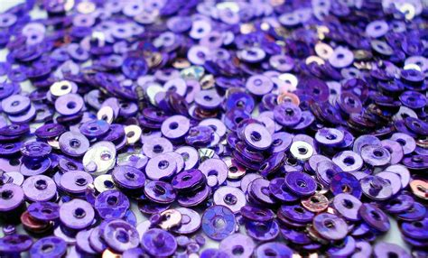 beading and sequins violet and sequins photograph by sumit mehndiratta