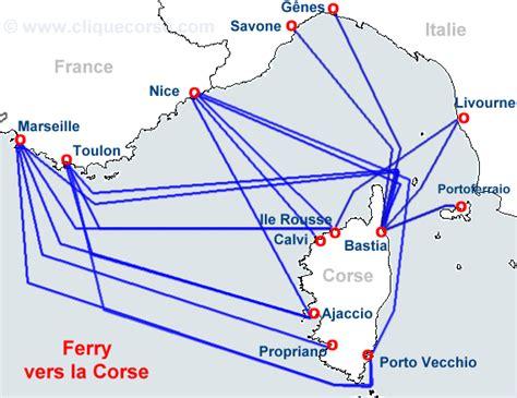 Marseille Ajaccio PROMOTIONS billet bateaux pas cher Marseille Ajaccio