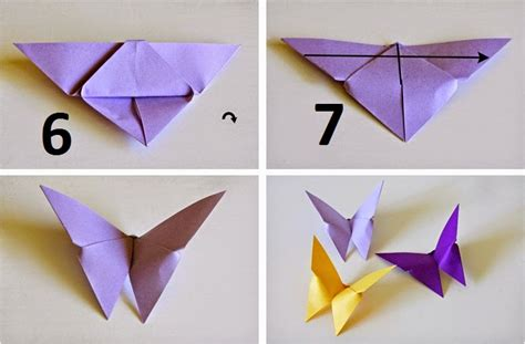 how to make a butterfly origami origami butterfly mariposa comot
