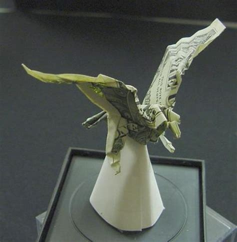 dollar origami by won park beautiful origami made of dollars by won park noupe