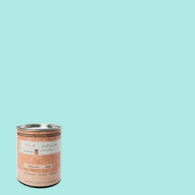 home depot yolo paint yolo colorhouse 1 qt sprout 01 flat interior paint