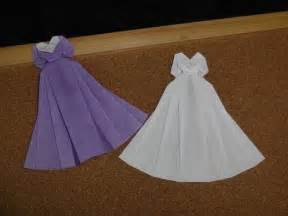 how to make origami wedding dress 25 best ideas about origami dress on diy