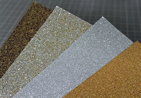 glitter craft paper types of glitter for card other crafts