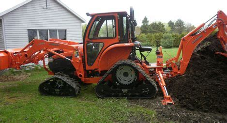 Soucy Track St 400 Track System For Compact Tractors