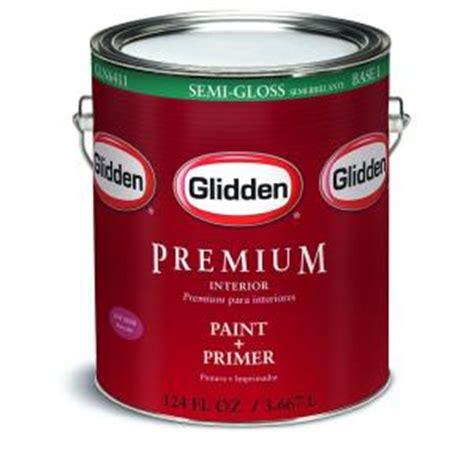 home depot paint delivery glidden premium 1 gal semi gloss interior paint gln6412