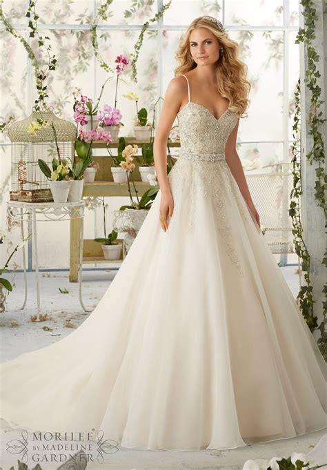 wedding gown dress mori bridal 2016 collection 2824