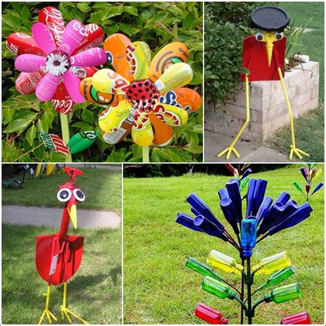 from recycled materials 5 amazing garden ideas from recycled materials idees