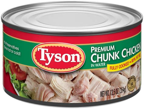 ewg s food scores canned chicken in a can products