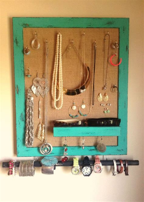 how to make jewelry holder picture frame diy jewelry holder made with a picture frame and burlap