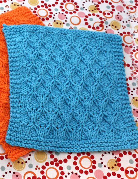honeycomb knitting pattern honeycomb check dishcloth knit pattern yarnspirations