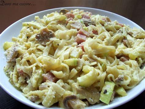 p 226 tes aux courgettes chignons et d 233 s de jambon au curry recette