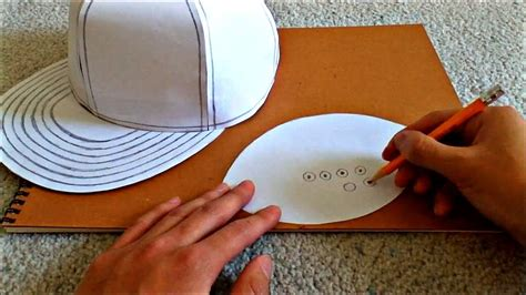 how to make a hat out of card tutorial on how to make a flat brimmed paper hat new era