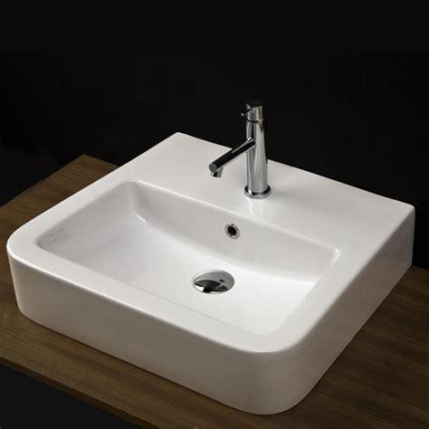 bathroom sinks modern lacava open space wall mount lav sink modern bathroom