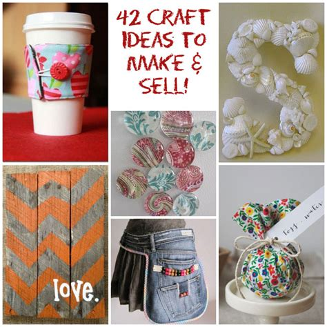 crafts projects 42 craft ideas that are easy to make and sell