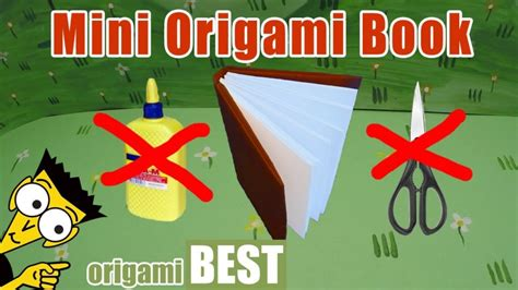 best origami book free coloring pages how to make a mini origami book