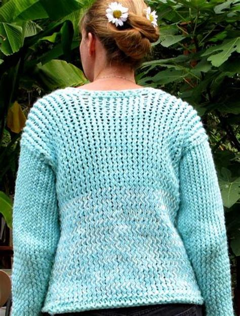 knitting loom sweater working without patterns knifty knitter loom