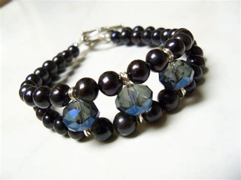 bead source black pearls for crafts