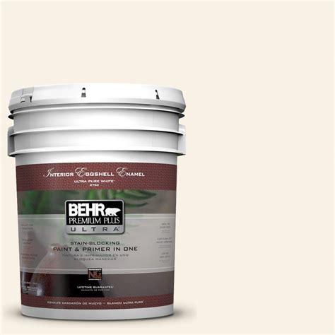 behr paint color eggshell behr premium plus ultra 5 gal ultra white eggshell