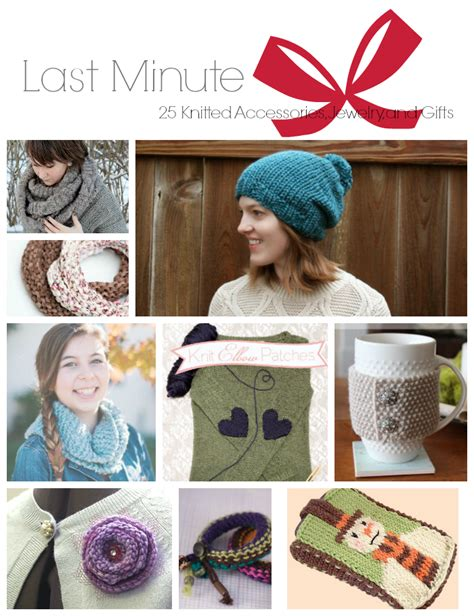 last minute knitted gifts last minute 25 knitted accessories jewelry and gifts