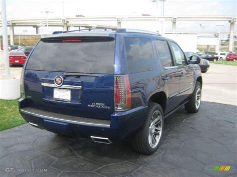 Cadillac Escalade Blue by 2012 Xenon Blue Metallic Cadillac Escalade Premium