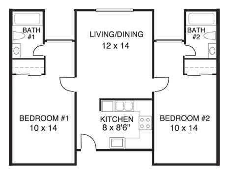 2 bedroom 2 bath floor plans stonehaven