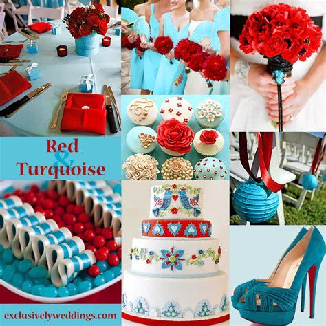 colour in decorations wedding color seven vibrant combinations
