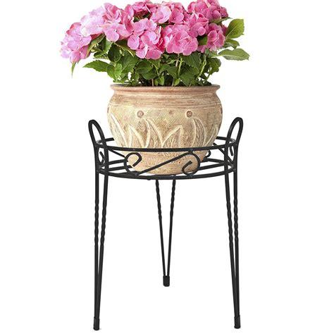 garden flower stands black metal home garden decor flower pot plant planter