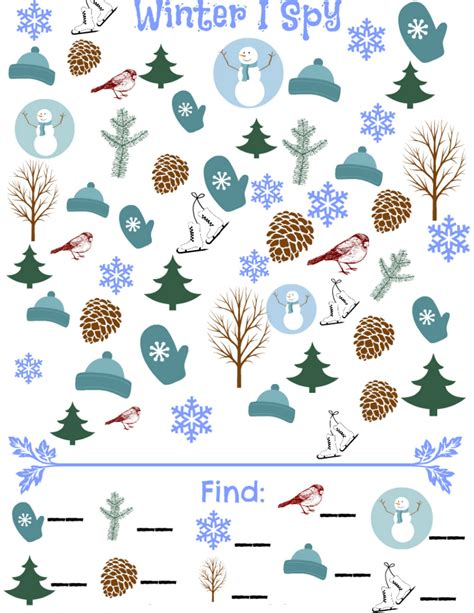 seek and find books pictures winter i simple play ideas