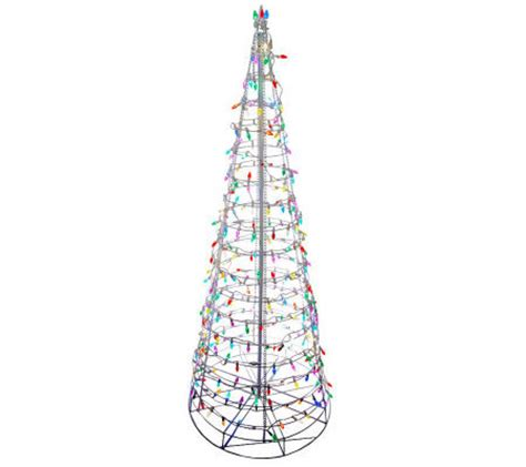 pre lit outdoor tree 6 pre lit collapsible outdoor tree with led