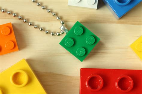 how to make lego jewelry lego necklaces 171 thelongthread