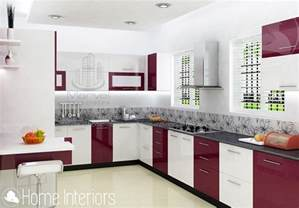 kitchen design kerala houses fascinating contemporary budget home kitchen interior design