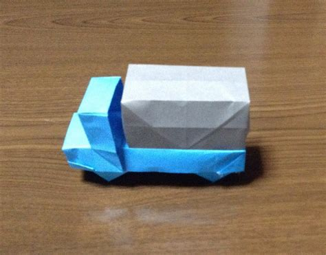 how to make a origami car how to make a origami truck car