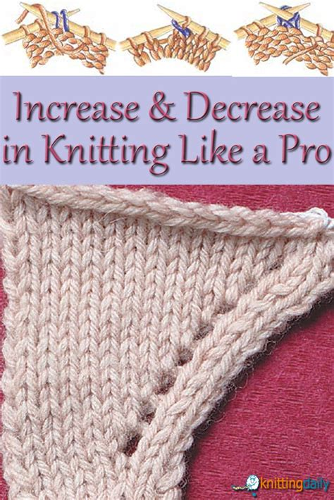 increase in next stitch knitting 25 unique knitting increase ideas on cast on