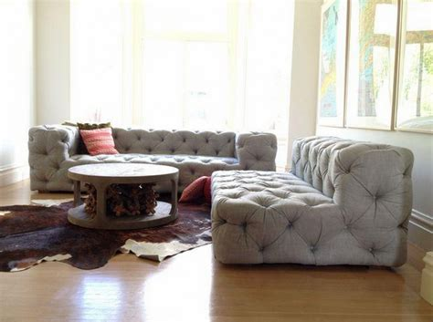 restoration hardware tufted sofa restoration hardware soho tufted upholstered armless