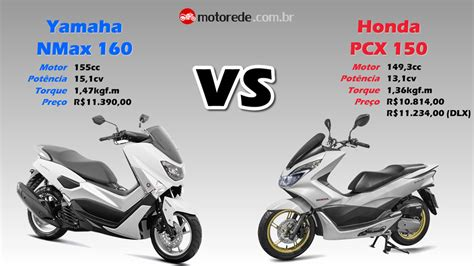 Pcx 2018 Vs Pcx 2017 by Compara 231 227 O Nmax 160 Vs Pcx 150 2016 07 Motorede