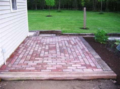 brick patio ideas brick designs for patios home ideas