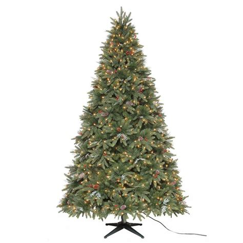 trees martha stewart martha stewart living 7 5 ft andes fir set