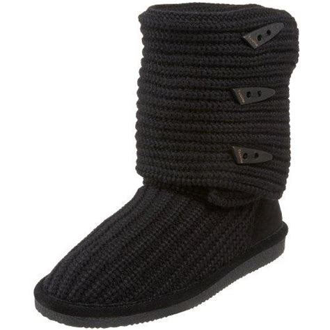 womens knit boots bearpaw knit 658w s sweater boots free