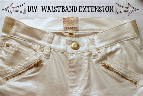 diy waist diy waistband extension for 183 how to make