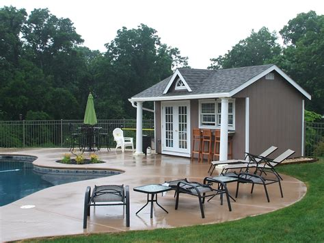pool house home pool house designs and ideas from the amish